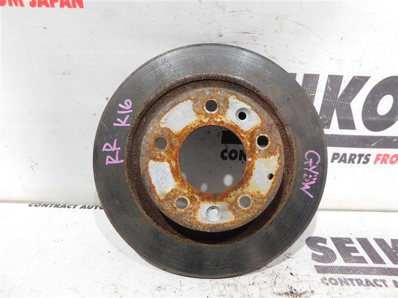 Диск тормозной Mazda Atenza GY3W задний правый (б/у)