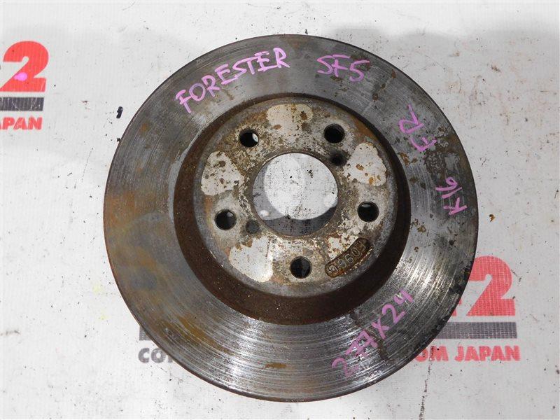 Диск тормозной Subaru Forester SF5 передний правый (б/у)