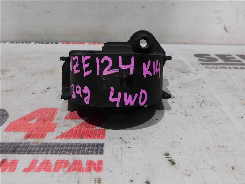 Подушка двигателя Toyota Corolla NZE124 1NZ-FE задняя (б/у)