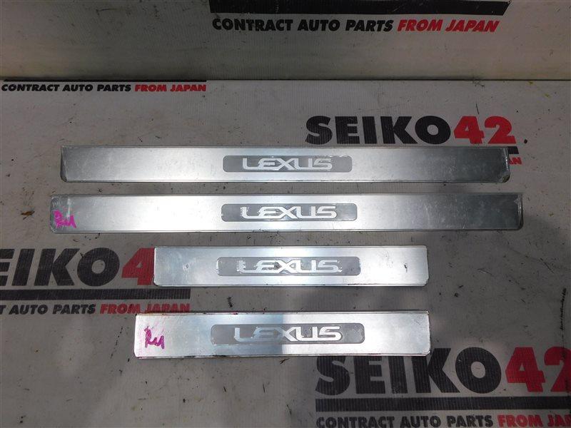 Накладка порога Lexus Gs350 GRS191 (б/у)
