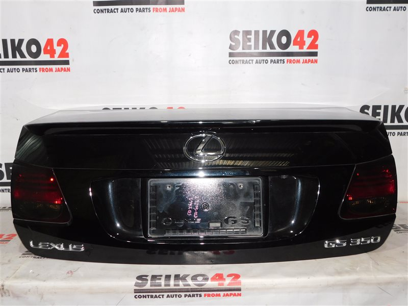 Крышка багажника Lexus Gs350 GRS191 задняя (б/у)