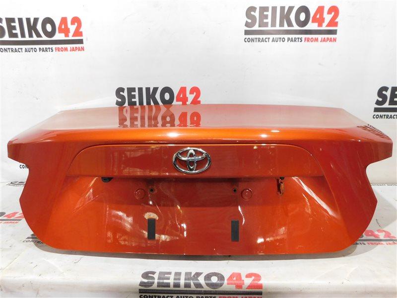 Крышка багажника Toyota Gt 86 ZN6 2 модель задняя (б/у)