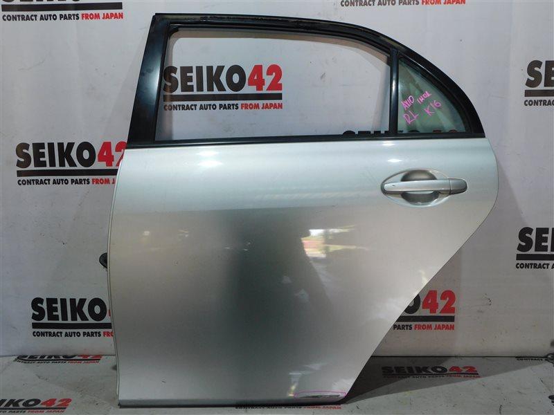 Дверь боковая Toyota Corolla Axio NZE141 1 модель задняя левая (б/у)