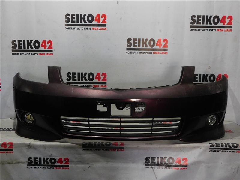 Бампер Toyota Corolla Spacio NZE121 1 модель передний (б/у)