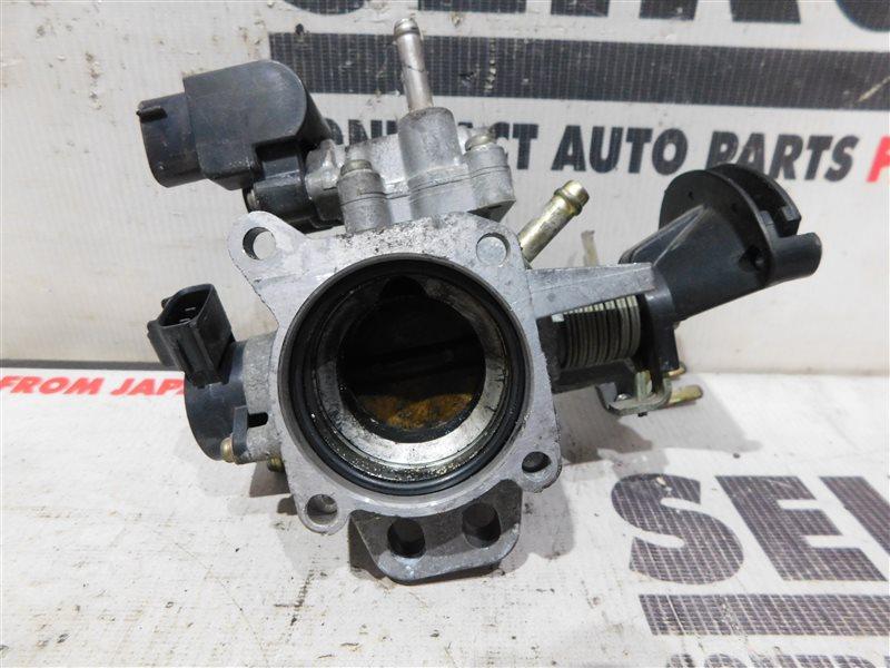 Дроссельная заслонка Toyota Vitz SCP10 1SZ-FE 1 модель (б/у)