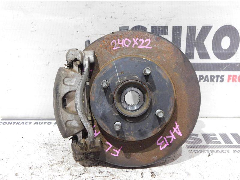 Диск тормозной Nissan March K13 HR12DE передний левый (б/у)