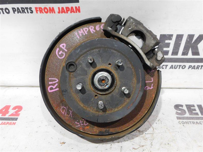 Диск тормозной Subaru Impreza Wagon GP7 FB16 задний левый (б/у)