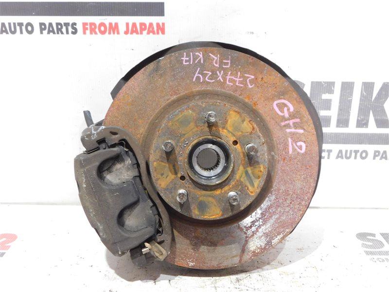Диск тормозной Subaru Impreza Wagon GH7 EJ203 передний правый (б/у)