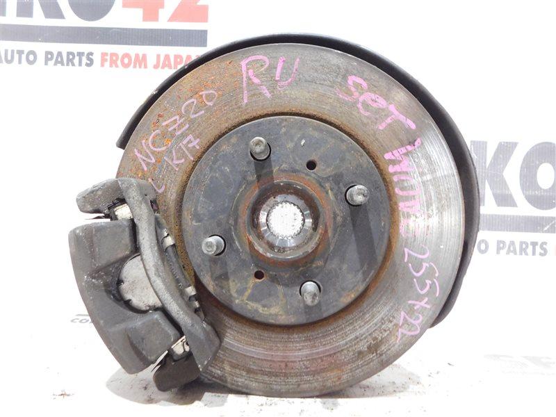 Диск тормозной Toyota Raum NCZ20 передний левый (б/у)