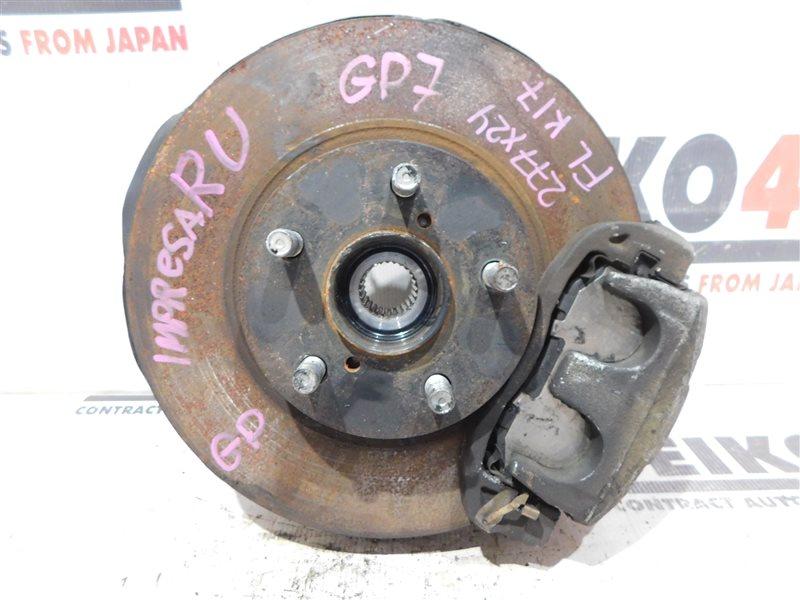 Диск тормозной Subaru Impreza Wagon GP7 FB16 передний левый (б/у)