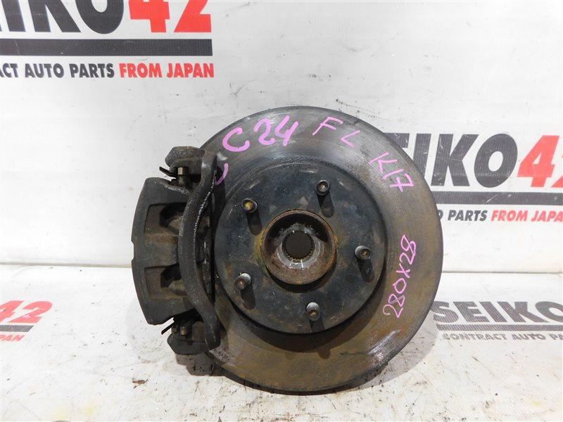 Диск тормозной Nissan Serena PC24 SR20DE передний левый (б/у)