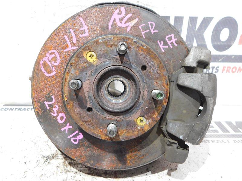 Диск тормозной Honda Fit GD1 L13A передний правый (б/у)