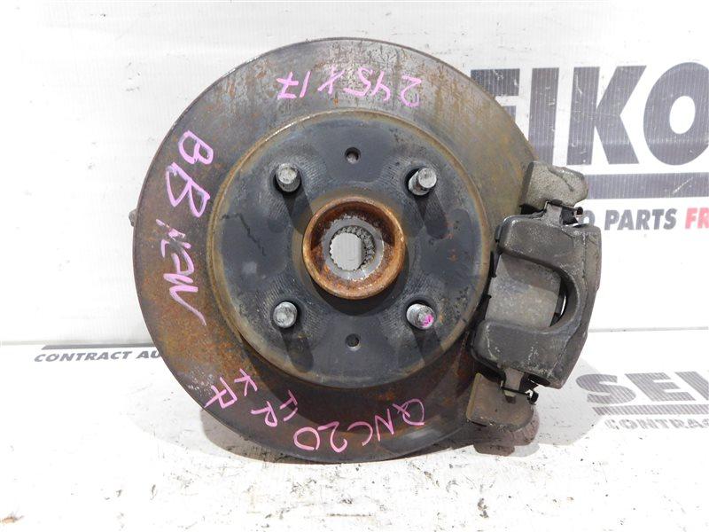Диск тормозной Toyota Bb QNC20 K3-VE передний правый (б/у)