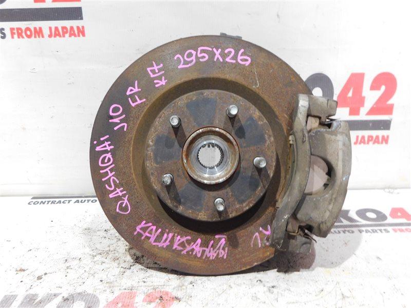 Диск тормозной Nissan Qashqai J10 MR20DE передний правый (б/у)