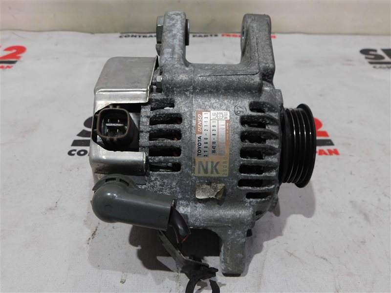 Генератор Toyota Sienta NCP81 1NZ-FE (б/у)