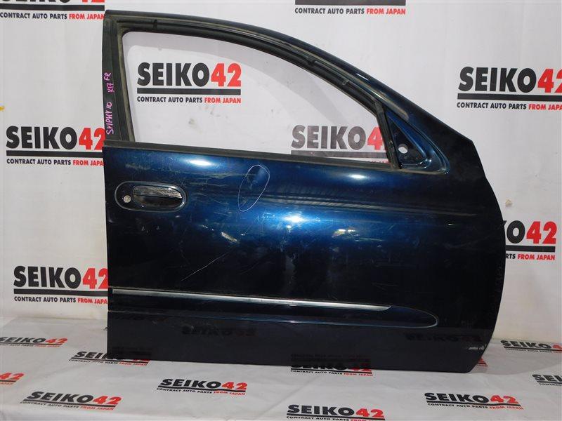 Дверь боковая Nissan Bluebird Sylphy QG10 передняя правая (б/у)