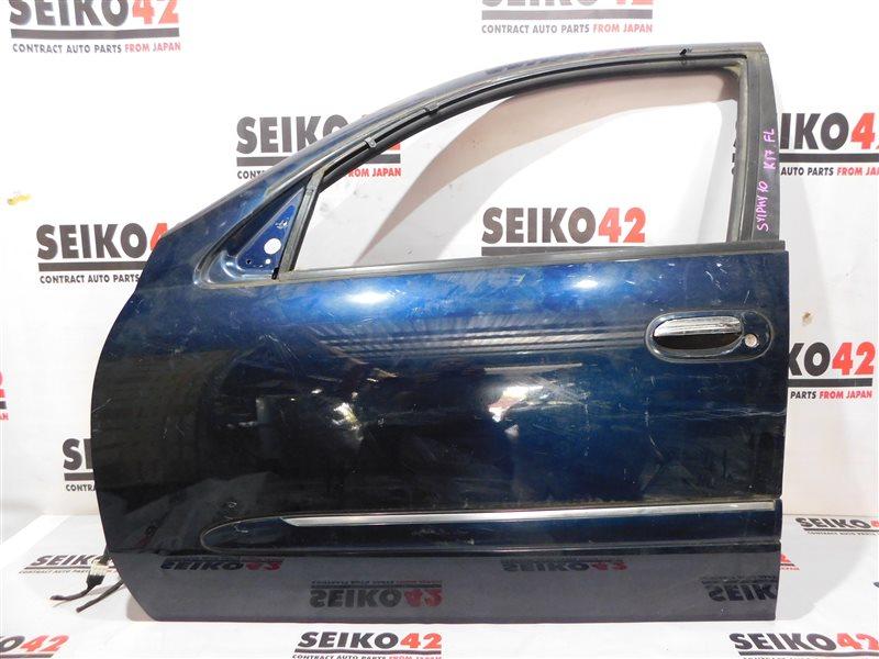 Дверь боковая Nissan Bluebird Sylphy QG10 передняя левая (б/у)