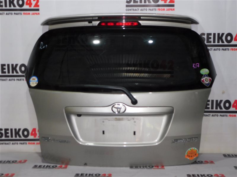 Дверь багажника Toyota Corolla Spacio NZE121N задняя (б/у)