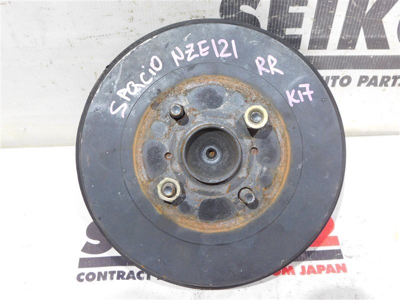 Ступица Toyota Corolla Spacio NZE121N задняя правая (б/у)