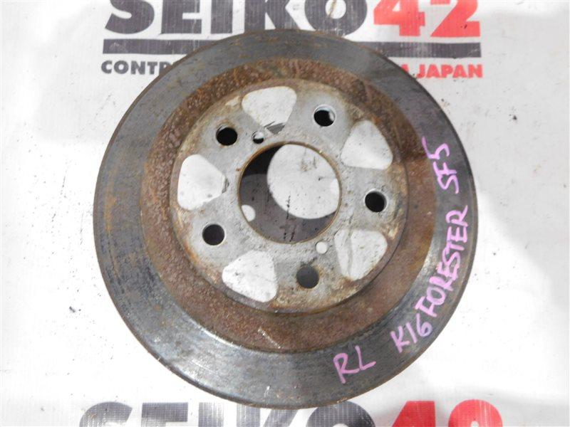 Диск тормозной Subaru Forester SF5 задний левый (б/у)