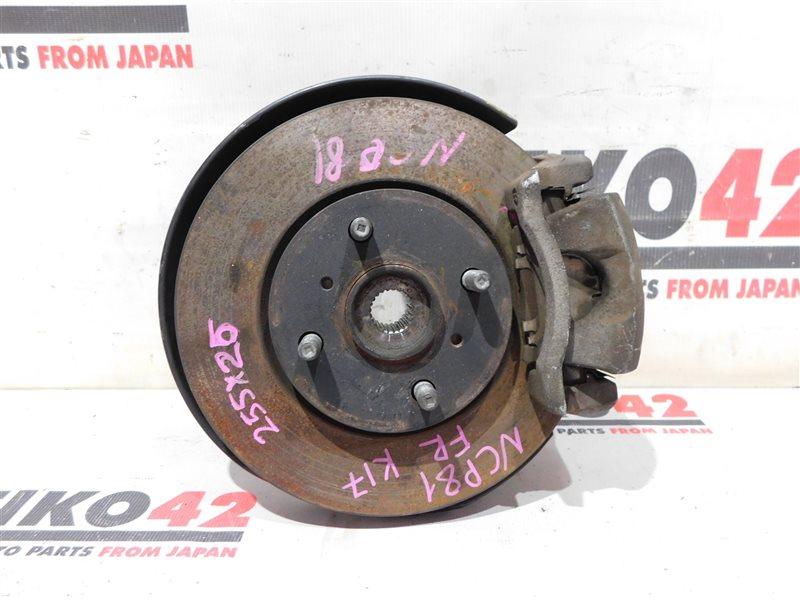 Диск тормозной Toyota Sienta NCP81 передний правый (б/у)