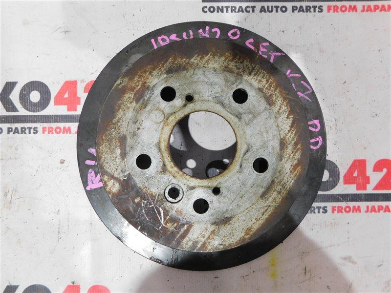 Диск тормозной Toyota Ipsum ACM21W задний правый (б/у)