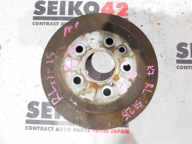 Диск тормозной Toyota Caldina ST215G 3S-GE задний левый (б/у)