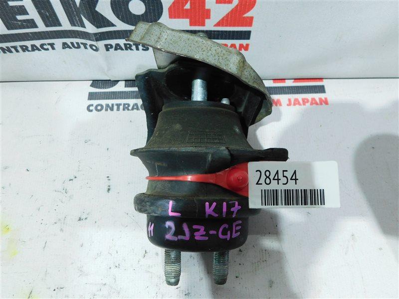 Подушка двигателя Toyota Progres JCG11 2JZ-GE передняя левая (б/у)