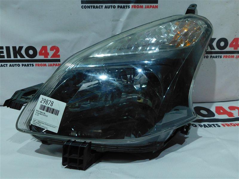 Фара Toyota Ractis NCP105 передняя левая (б/у)