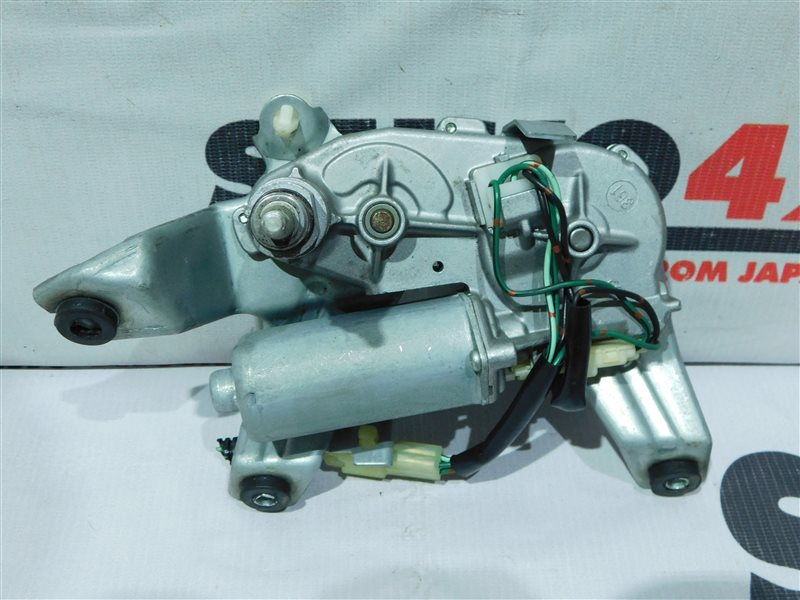 Мотор стеклоочистителя Honda Stream RN1 задний (б/у)
