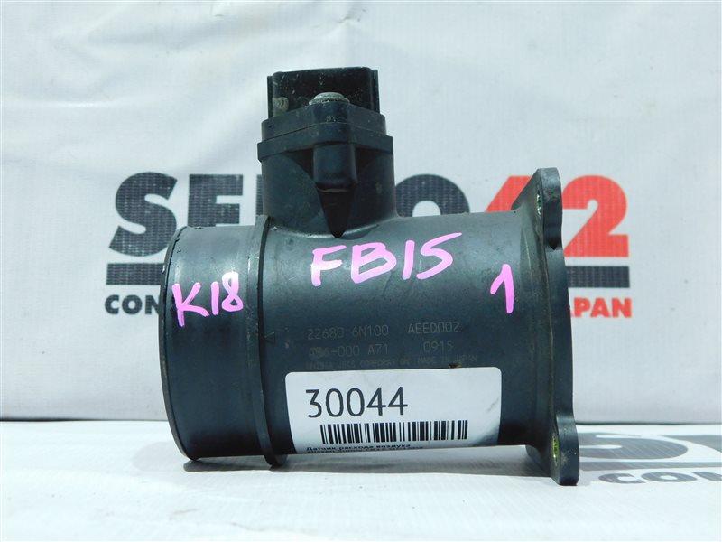 Датчик расхода воздуха Nissan Sunny FB15 QG15DE (б/у)