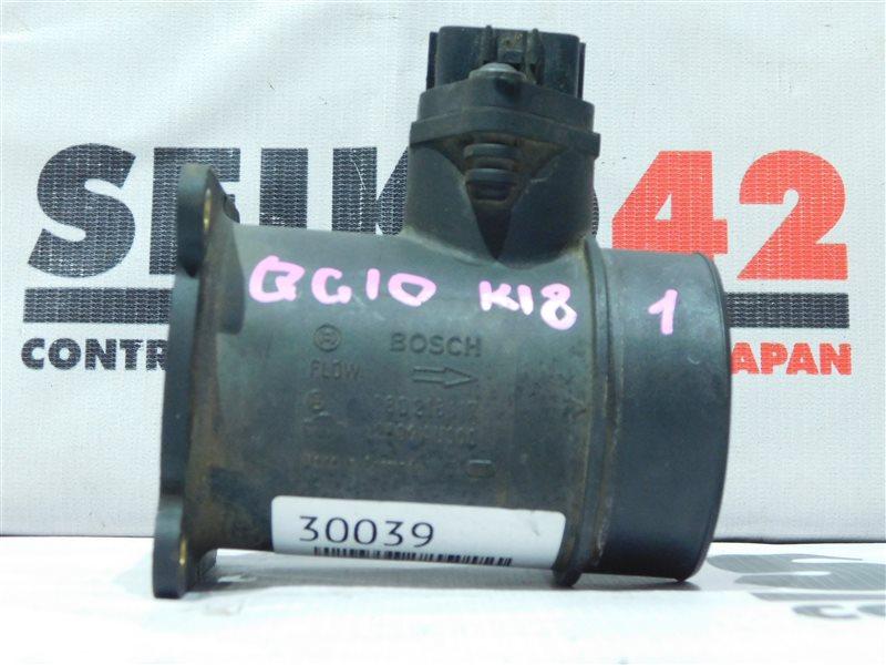 Датчик расхода воздуха Nissan Bluebird Sylphy QG10 QG18DE (б/у)