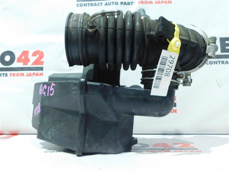 Патрубок воздухозаборника Nissan Sunny FB15 QG15DE (б/у)