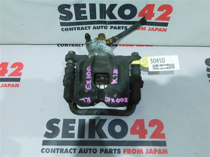 Суппорт Toyota Mark Ii GX100 задний левый (б/у)