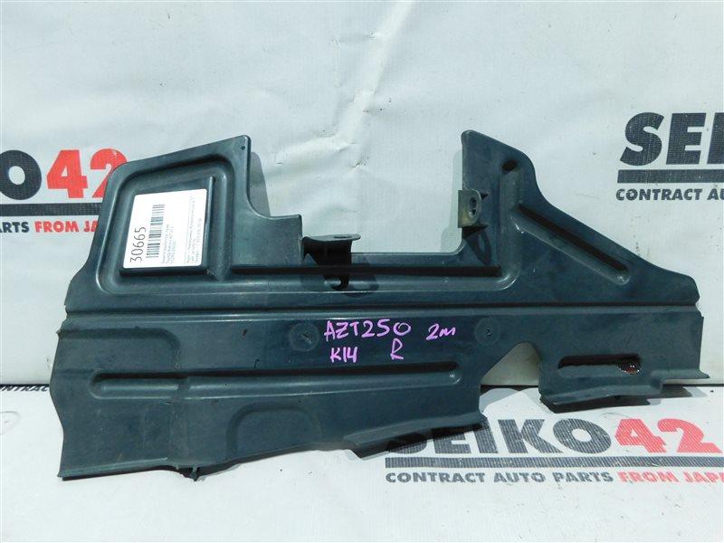 Защита радиатора Toyota Avensis AZT250 2 модель передняя правая (б/у)