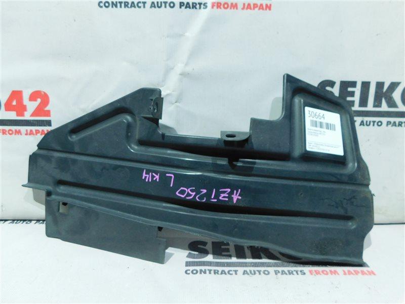 Защита радиатора Toyota Avensis AZT250 2 модель передняя левая (б/у)