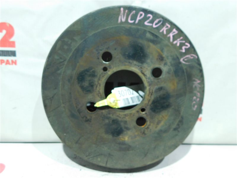 Барабан тормозной Toyota Funcargo NCP20 задний правый (б/у)