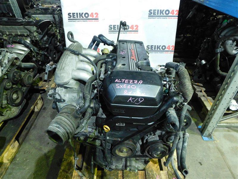 Дроссельная заслонка Toyota Altezza SXE10 3S-GE (б/у)