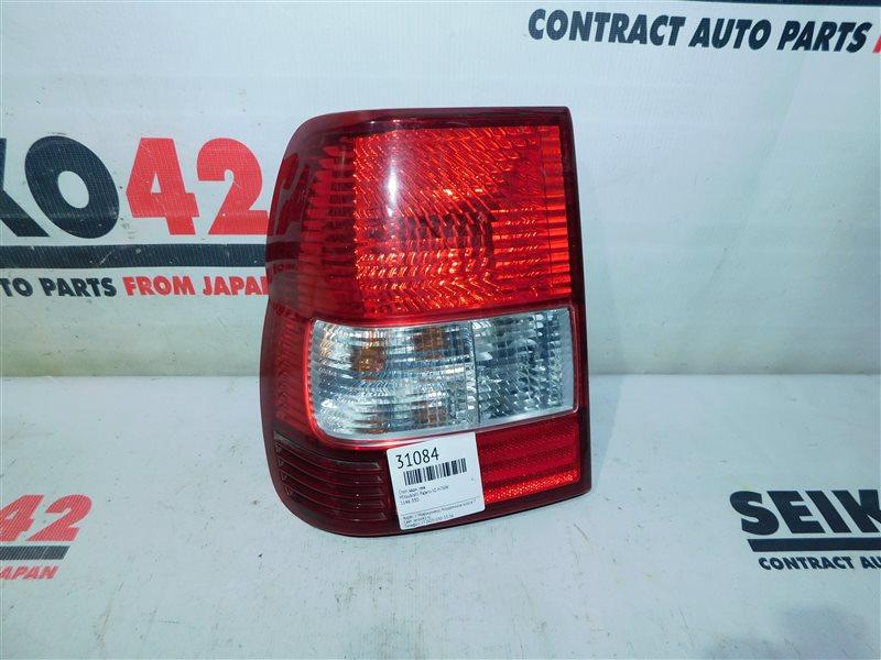 Стоп Mitsubishi Pajero Io H76W задний левый (б/у)