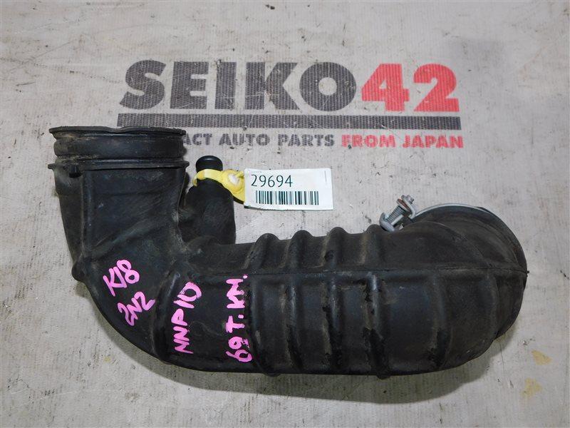Патрубок воздухозаборника Toyota Porte NNP10 2NZ-FE (б/у)