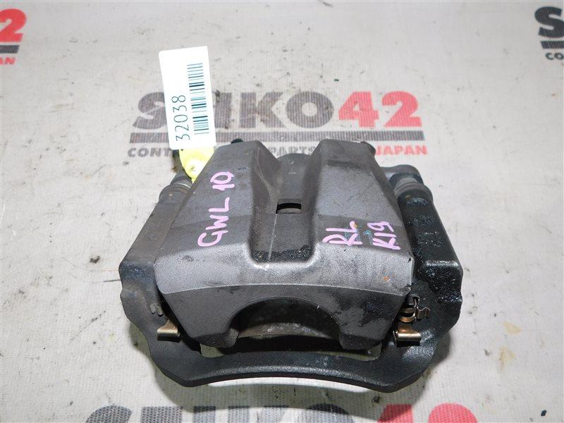 Суппорт Lexus Gs450H GWL10 2GR-FXE задний левый (б/у)