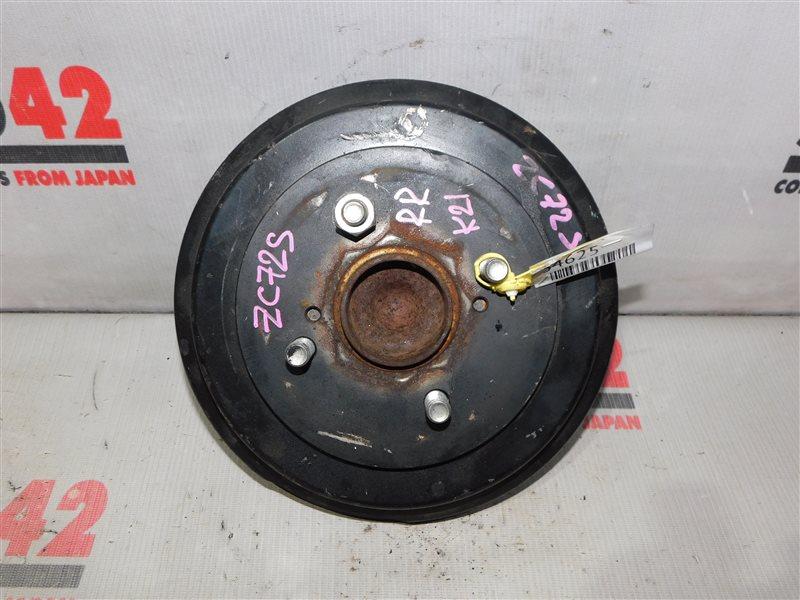 Ступица Suzuki Swift ZC72S задняя правая (б/у)