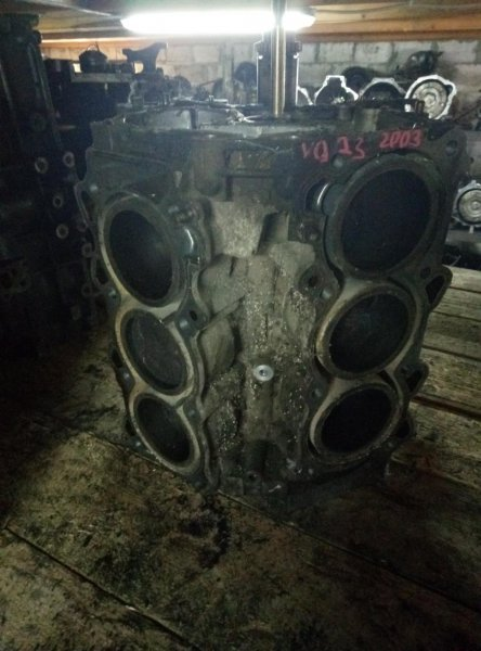 Блок цилиндров Nissan Teana J31 VQ23 (б/у)