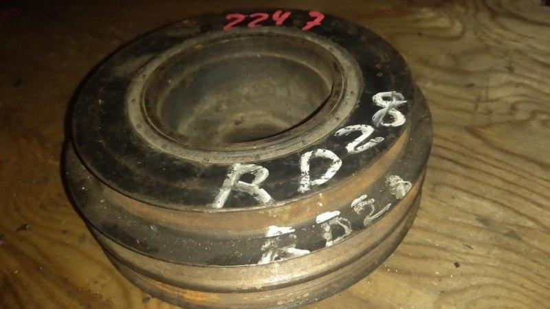 Шкив коленвала Nissan Patrol Y61 RD28 (б/у)