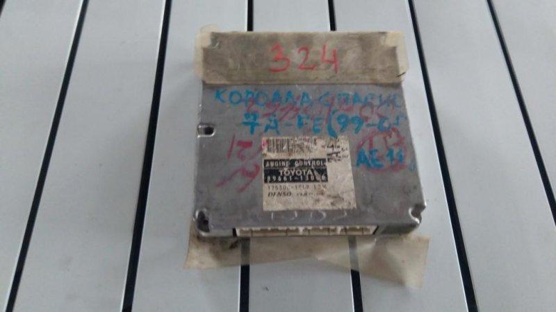 Блок управления efi Toyota Corolla Spasio AE115 (б/у)