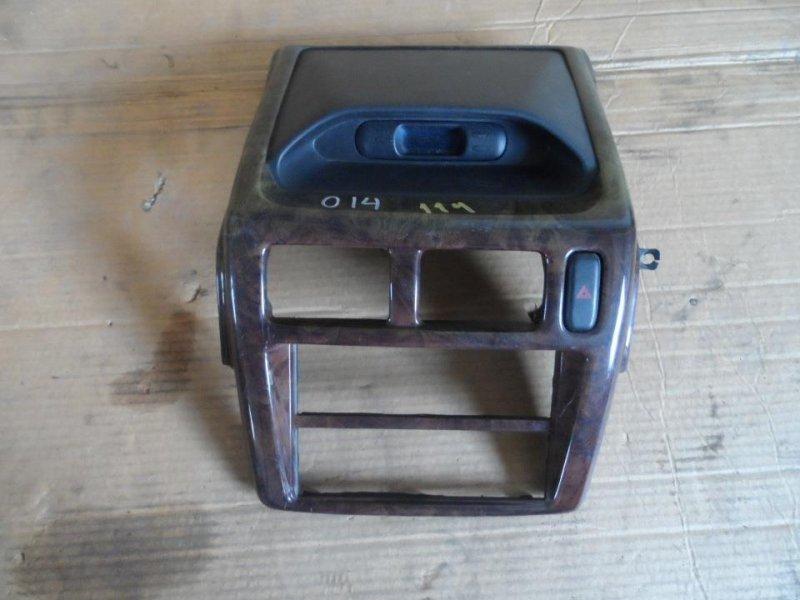 Консоль магнитофона Mitsubishi Pajero Mini H58A 1999 (б/у)