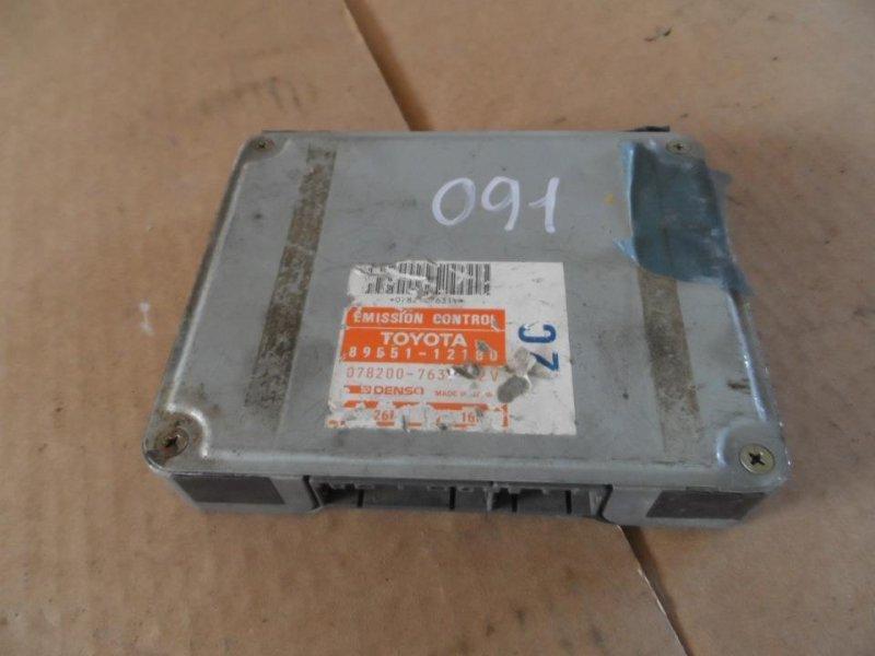 Блок управления efi Toyota Corolla CE106 1995 (б/у)