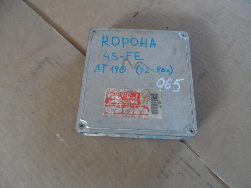 Блок управления efi Toyota Carina ST190 1994 (б/у)