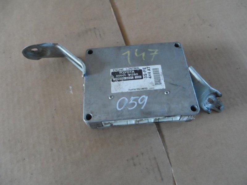 Блок управления efi Toyota Caldina ST215 1998 (б/у)
