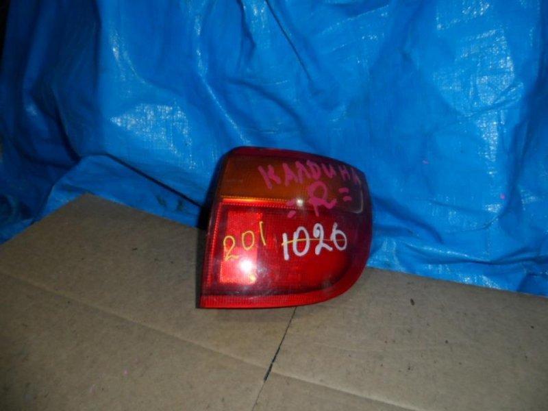 Стоп-сигнал Toyota Caldina ET196 1997 задний правый (б/у)